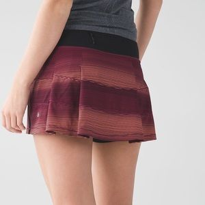 Lululemon Pace Rival Skirt II Tall Simply Radiant